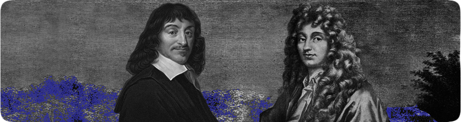 René Descartes et Christian Huygens virtuellement réunis