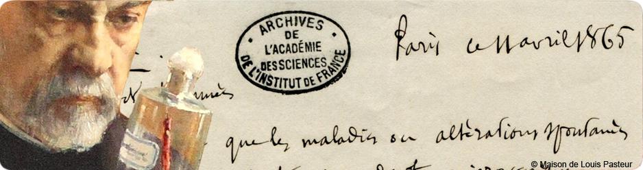 Louis Pasteur, manuscrit et maison de l'Unesco