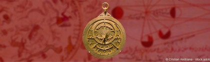 ancien astrolabe arabe