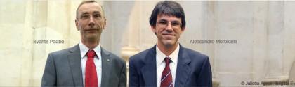 Svante Pääbo et Alessandro Morbidelli