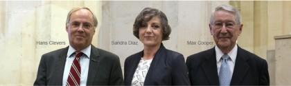 Max Cooper, Hans Clevers et Sandra Diaz