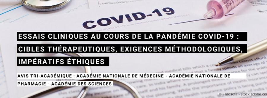 Covid essais cliniques