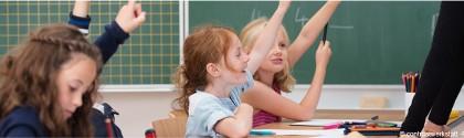 Leçon de mathématique à l'école