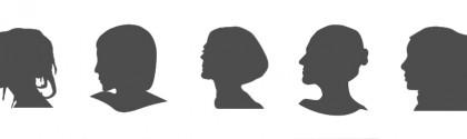 Silhouettes féminines