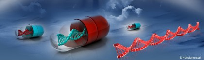 Gènes dans des capsules