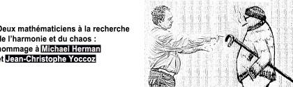 Michael Herman et Jean-Christophe Yoccoz